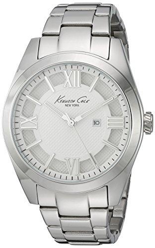 Kenneth Cole Reloj Analógico para Mujer de Cuarzo con Correa en Acero Inoxidable 10023856