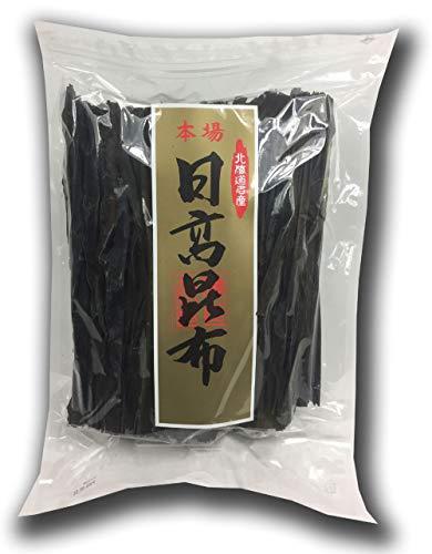 北海道天然日高昆布 300g 大容量 便利なチャック付き