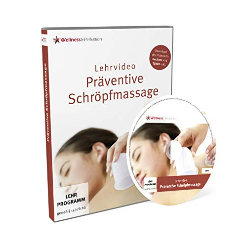 DVD Schröpfmassage (Lehrvideo) | Für Anfänger und Profis | Inkl. kostenloser Tablet-/Smartphone-Version zum Download