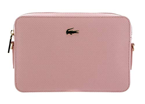 Lacoste Chantaco Sqaure Crossover Bag Mellow Rose