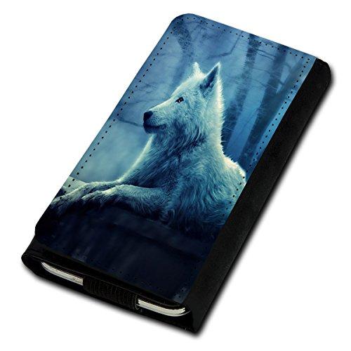 sw-mobile-shop Book Style Flip Handy Tasche Case Schutz Hülle Foto Schale Motiv Etui für Medion Life E4503 - Flip U3 Design1