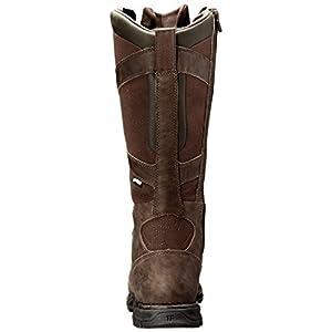 Danner Men's Pronghorn Snake Boot Side-Zip-M, Brown-Full Grain, 11 EE US