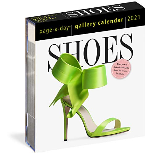 2021 Shoes Page-A-Day Gallery Calendar