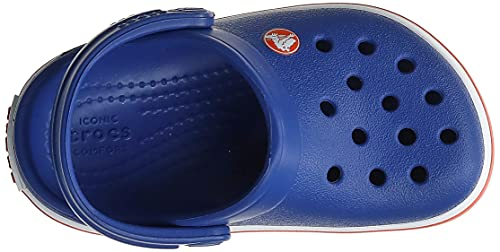 Crocs Crocband Clog Kids Unisex Niños Zuecos, Azul (Cerulean Azul), 29/30 EU