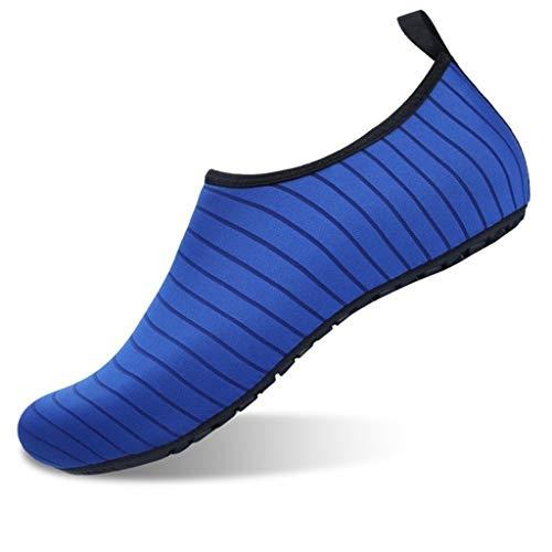 CHLDDHC Zapatos De Agua para Mujer Y Hombre, Zapatos De Verano Descalzos, Calcetines De Agua De Secado Rápido para Natación En La Playa, Yoga, Ejercicios, Zapatos Acuáticos
