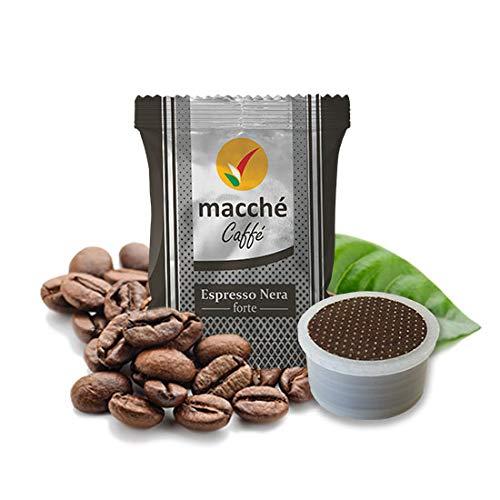 100 Cialde Capsule Compatibili Illy Kimbo Uno System Macche' Caffe' Forte
