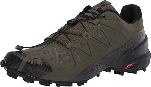 SALOMON Herren Shoes Speedcross Laufschuhe, Mehrfarbig (Weinblatt/Schwarz/Phantom), 44 2/3 EU