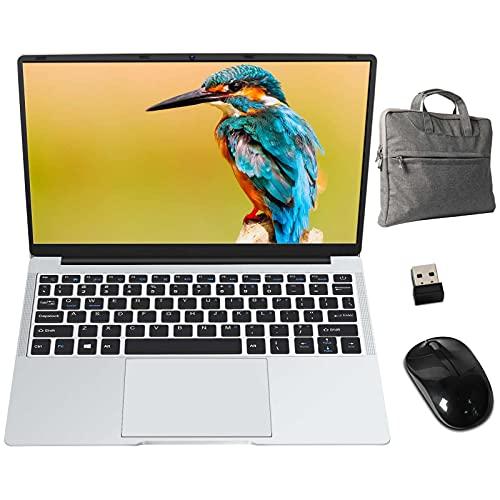GOODTEL B2 Ordenador Portátil de 14.1' Full HD, con Intel Celeron N3350, 6 GB de RAM, Windows 10 Home, Soporta SSD 512 GB, 1920x1080 IPS HDMI, OTG, WiFi, Bolsa de Cuaderno Ratón