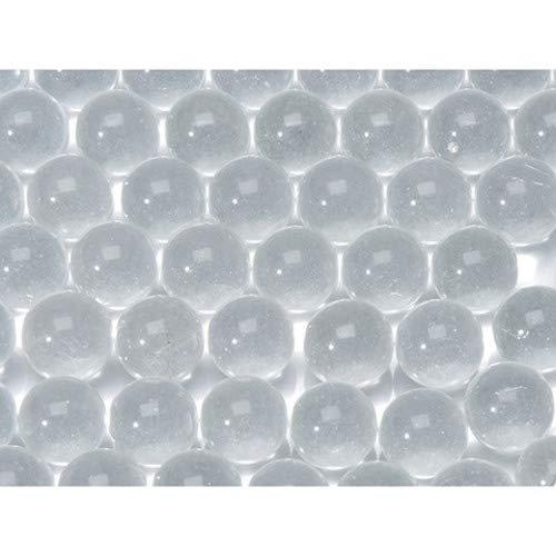 DariceFloral Glas-Murmeln, 340 ml, transparent, Mehrfarbig