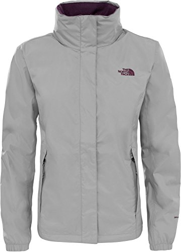 The North Face Women's W Resolve 2 Jacket, Silver (Metallic Silver), S