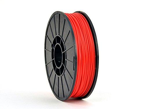 AlephObject NinjaFlex 3D Printer Filament, TPE, 3 mm, 0.75 kg Reel, Fire