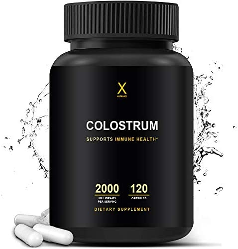 Colostrum 2000mg Third Party Tested Colostrum Supports Healthy Immunity And Gut Health Contains product image