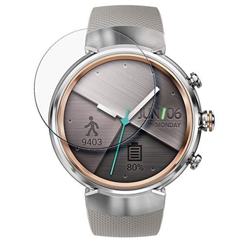 disGuard® Protector de Pantalla [Crystal Clear] compatibile con ASUS Zenwatch 3 WI503Q...