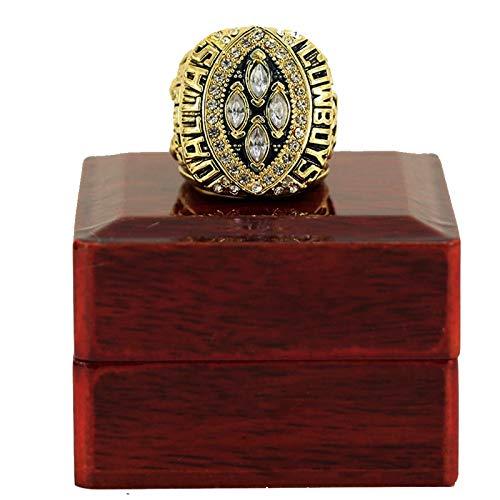 HZIH CopyDallas Cowboys Championship Ring 1993 Super Bowl World Championship Ring Replica with Display Box,11