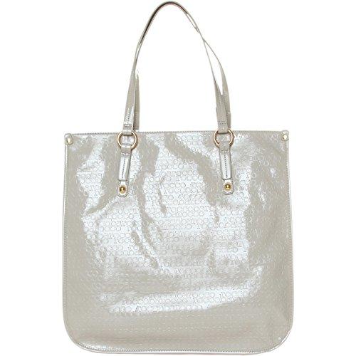 Roccobarocco Grigio ROBS43D10 Handtaschen Tasche Schultertasche 41x7x39 cm, hellgrau/Light Grey