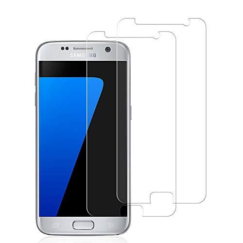 wsiiroon Schutzfolie für Samsung Galaxy S7 Panzerglas, HD klar gehärtetes Glas Displayschutzfolie, Anti Kratzen, Anti Fingerabdruck Panzerglasfolie für Samsung Galaxy S7