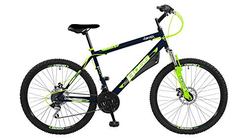 Boss Vortex Green 26 Inch Front Suspension Mountain Bike Teenager to Adult MV Sports