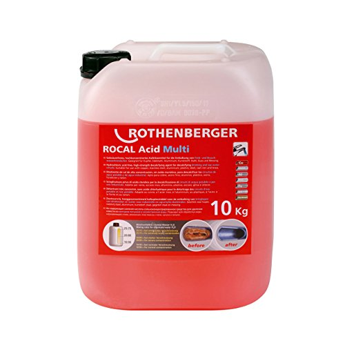 ROTHENBERGER Entkalkungschemie ROCAL Acid Multi 10 kg
