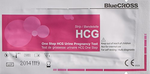 BlueCross - 10 FDA Approved Bluecross Babi Pregnancy Test Strips