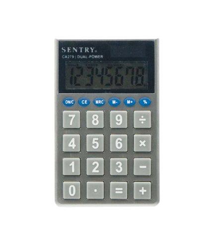 Sentry CA279 Jumbo-Key Pocket Standard Function Calculator
