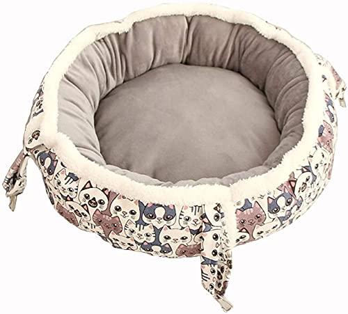 TYSJL Cat Hammock L'amaca del gatto è universale in tutte le stagioni, può appendere la poltrona reclinabile per gatti, sedia solare regolabile per animali domestici, 35x35x16cm, 45x45x16cm (colore: s
