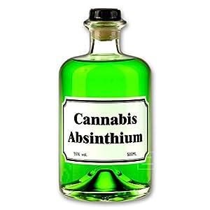 Grüner Cannabis Absinth 0,5l 55% vol.