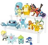 3-7cm Figurine Pikachu Metang Cosmog Incineroar Litten Popplio Psyduck Bulbasaur Battle figura multi pack Model giocattoli