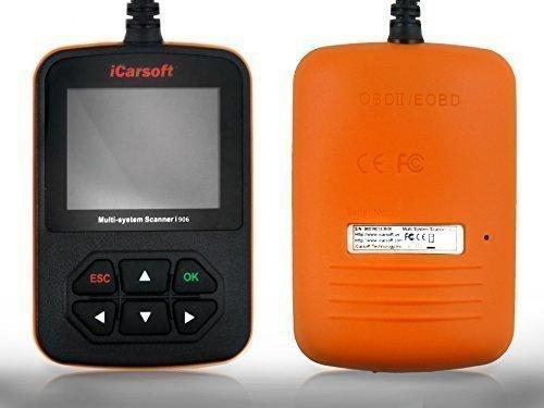 iCarsoft i906 Profi Diagnosegerät für Volvo Zugriff auf alle Steuergeräte OBD Support und Updates kostenlos