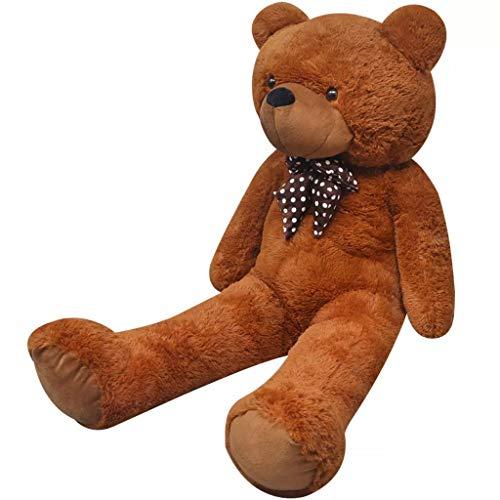 vidaXL Teddybär 150cm Plüsch Teddy Kuscheltier Stofftier Plüschtier Plüschbär