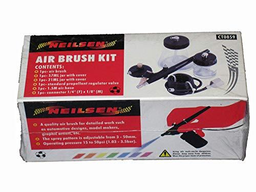 NEILSEN TOOLS - Kit de aerografía (tamaño pequeño)