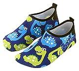 HAOKTSB Summer Beach Zapatos para niños Zapatos Casuales al Aire Libre para niños Nadar Diving Snorkeling Calzado Zapatos de Agua para niños al Aire Libre Zapatos de Playa
