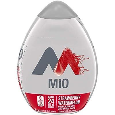 Mio Strawberry Watermelon Liquid Water Enhancer Drink Mix (1.62 Fl Oz Bottle), Multi (10043000000752), Set of 4 from