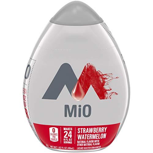 Mio Strawberry Watermelon Liquid Water Enhancer Drink Mix (1.62 Fl Oz Bottle), Multi (10043000000752), Set of 4