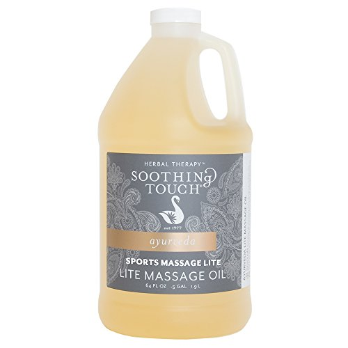 Sale!! Soothing Touch W67361H Sports Massage Lite Oil, 1/2 Gallon by Soothing Touch