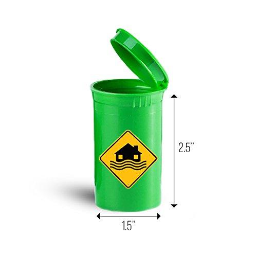 Price comparison product image Flood Disaster Storage Organizer Bin for Vitamins ID 6172G