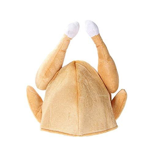 WSJKHY Katoenen geroosterde kalkoen hoeden voor Thanksgiving Halloween kostuum Dress Up Party Sale As Show 5 Pcs