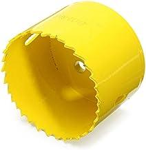 HELEISH El agujero del metal M42 de 60m m vio el cortador plástico de madera de la sierra del taladro de la broca Herramienta accesoria