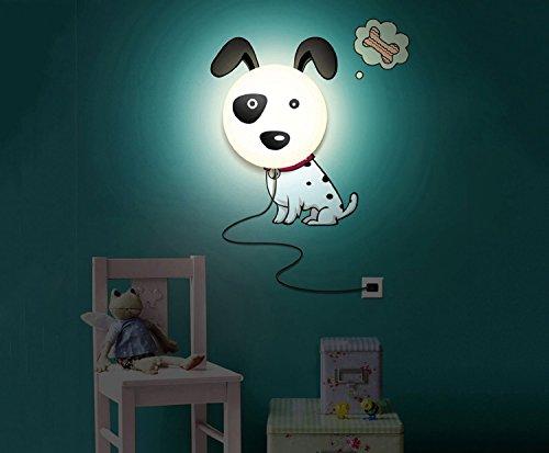 paracity Papier peint DIY 3D Design cartoon mur autocollants maison chambre Decor Décoration LED Night Light lampe pour chambre Kids '