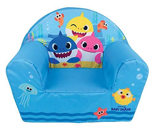 Fun House Baby Shark-Poltroncina per Bambini, Tessuto