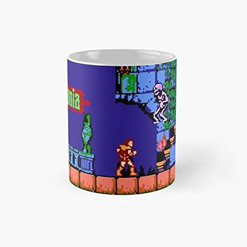 Castlevania NES Classic Taza – 325 ml para café, té, chocolate o latte.