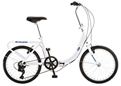 Discover the convenience and utility of the Schwinn Loop Adult Folding Bicycle. In just a few easy steps, this brilliant device folds out to a bike that's big enough to accommodate a six-foot rider Great for camping or RV-ing, this durable steel bike...