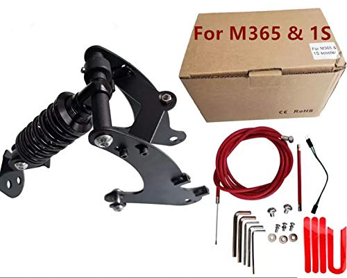 SPEDWHEL Scooter Rear Shock Absorption Part High-Density Rear Suspension Kit Compatible with Xiaomi M365 1S Pro Pro2 Rear Suspension Fork Set (for M365&1S 80MM)