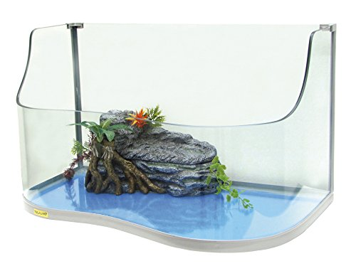 Tugaland WT2077108 Paradise 60 Schildpadaquarium, 62 x 36 x 22/36 cm