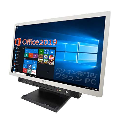 【Microsoft Office 2019搭載】【Win 10搭載】【23型フルHD液晶一体型】富士通 K553/次世代i5 2.5GHz/新品メモリー:8GB/HDD:500GB/DVDスーパーマルチ/USB 3.0/無線搭載/新品キーボードとマウス/中古デスクトップパソコン (HDD:500GB)