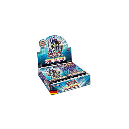 Yu Gi Oh! Toon Chaos Display mit 24 Booster Packs