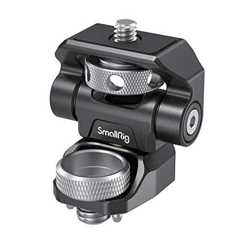 (Nueva Versión) SMALLRIG Ajustable Monitor Mount Giratorio e Inclinable con Tornillo estilo ARRI - 2903
