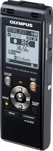 Olympus WS-853 Digital Voice Recorder - 4.1 cm (1.6') LCD - 8 GB Flash...