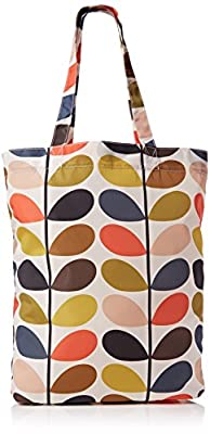 Orla Kiely Classic Multi Stem Packaway Bag (Single Handle)