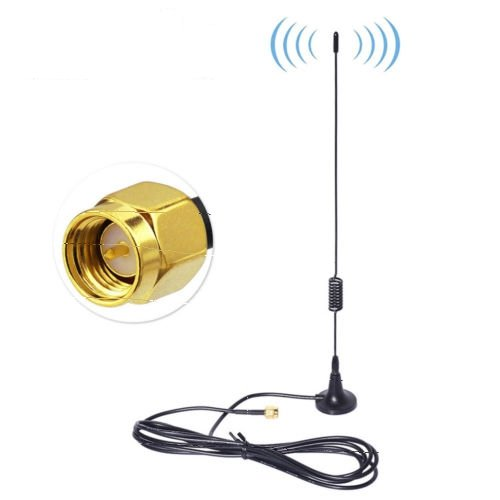 868MHz 900MHz 915MHz Zigbee RFID 5dBi Antenna with SMA Male Magnetic Mount Base USA Shipping