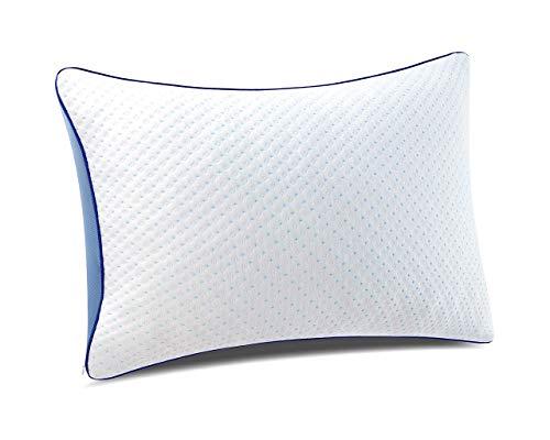 pillowLY Shredded Memory Foam Pillow For Neck Support & Pain Relief